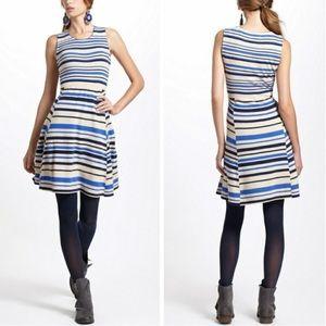 Anthropologie Sparrow Knit Stripe Dress